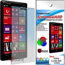 3 Pellicole Per NOKIA Lumia 930  Proteggi Salva Schermo Display LCD Pellicola