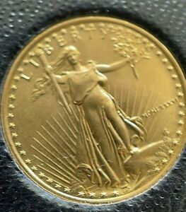 1986 1/10 Oz. Gold 5 USD Dollar Eagle - gradable