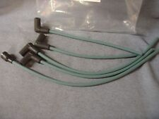 NEW TRIUMPH TR 2 3 IGNITION SIDE ENTRY LEAD SET UNIPART GREEN