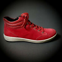 ARA Damen Sneaker Stiefel Schuhe Leder rot Leder Neu REDUZIERT SALE 49496