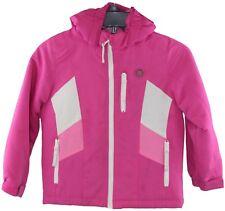 Athletech Youth Girls Pink White Insulated Winter Jacket Coat Size XS (4/5)