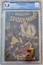 Amazing Spider-Man 51 CGC 1.8 - 2nd KINGPIN Stan Lee John Romita