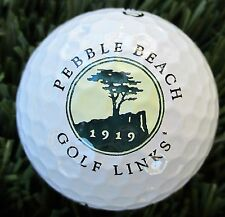 New Logo Golf Ball -   Pebble Beach G L , CA -  1919  /  Jack Neville Gem