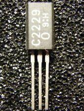 10x 2sc2229-o NPN transistor 150v 50ma 800mw, toshiba