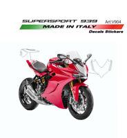 Kit adesivi portanumeri per Ducati Supersport 939