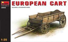 MiniArt - European Cart 35553 1:35 Scale Model Scenery