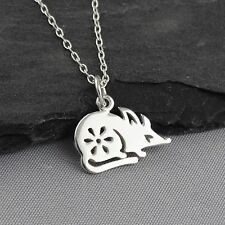 Year of the Rat Necklace - 925 Sterling Silver - Chinese Zodiac Pendant NEW
