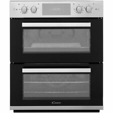 Candy FC7D415X Built Under 60cm Electric Double Oven Stainless Steel New