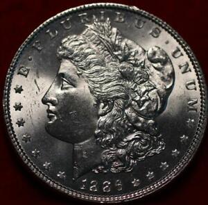 Uncirculated 1886 Philadelphia Mint Silver Morgan Dollar
