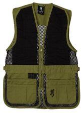 Browning Jr Trapper Creek Mesh Hunting Vest Sage Black Youth Size XL 3050545404