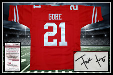 FRANK GORE autographed signed 49ERS red jersey JSA coa UNFRAMED