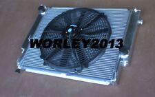 Aluminum radiator + fan for BMW E36 M3 / Z3 /325TD /320 323 328 1992-1999 Manual