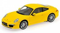 Porsche 911 (991) Carrera S (yellow) 2011  1:18
