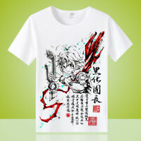 Anime The Seven Deadly Sins Unisex Otaku Casual T-shirt Tops Short Sleeve Tee