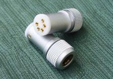Tonearm Plug Connector Straigth s din for Roksan Linn Jelco SME, etc.