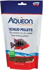 New listing Aqueon Cichlid Food Medium Pellets, 7-1/2-Ounce free shipping