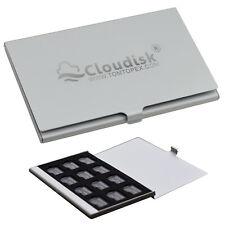 12pcs/lot 32GB 16GB 8GB 4GB Micro SD MicroSD Memory Card in Metal Storage Case
