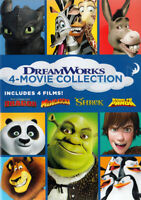4-MOVIE COLLECTION (HOW TO TRAIN YOUR DRAGON / MADAGASCAR / SHREK / KUNG F (DVD)