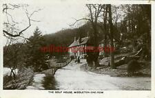 REAL PHOTOGRAPHIC POSTCARD OF THE GOLF HOUSE, MIDDLETON-ONE-ROW, COUNTY DURHAM