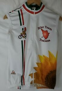 3M Caverni Cycling Jersey Men's Size Small Sleeveless Bike Bicycling
