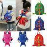 Kids Baby Safety Harness Backpack Leash Toddler Anti-lost Dinosaur Shark Bag Hot