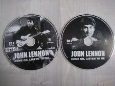 john lennon - come on, listen to me - 2CD's - label HMC004