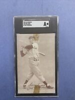 1939 Exhibits Ted Williams #9 SGC A - Authentic HOF Red Sox Graded #9 Exhibits