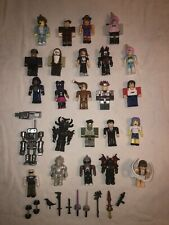 ROBLOX - Lot Of 24 Figures; Mech Mobility; Some Accessories