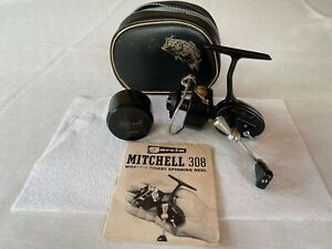 MITCHELL 308UL FRENCH MADE SPINNING REEL, PLANAMATIC GEARS,MINT CONDITION.