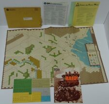 Rare New Vintage 1977 RAID Commando Operations SPI Military WWII WAR Board Game