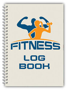 A5 GYM WEIGHT TRAINING FITNESS LOG BOOK GYM WORKOUT EXERCISE JOURNAL