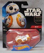 Hot Wheels Star Wars BB-8 Personaje Coche - el Despertar de la Fuerza Tarjeta
