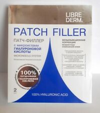Librederm Hyaluronic Acid Patch filler microneedle system 2pcs/pack NEW