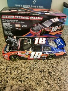 1/24 KYLE BUSCH Record 13 NATIONWIDE WINS 2010 2011 Lionel Nascar Diecast