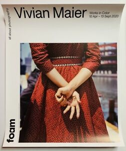 VIVIAN MAIER 2020 original EXHIBITION POSTER AMSTERDAM GALLERY The Color Work