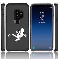 For Samsung Galaxy S9 S9+ Shockproof Hard Soft Bumper Case Cover Gecko Lizard