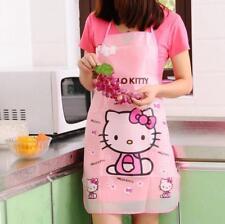 1x Kawaii Hello Kitty Sleeveless Waterproof Anti-oil Women Aprons Kitchen Tool