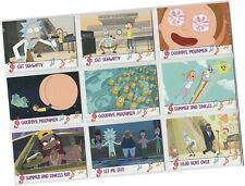 "Rick & Morty Season 2 (Two) - 9 Card ""Face The Music"" Chase Set M01-M09"
