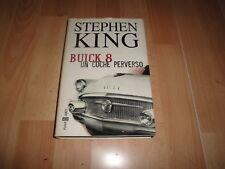 BUICK 8 UN COCHE PERVERSO DE STEPHEN KING LIBRO PRIMERA EDICION DEL AÑO 2002