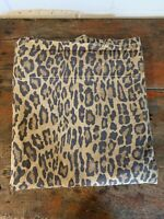 Vintage Ralph Lauren Leopard Aragon FLAT Sheet FULL - Nice