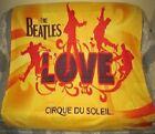 New The Beatles Love Cirque du Soleil Plush Throw Gift Blanket Las Vegas Show