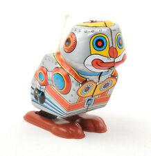 Yoneya Toys (Yone) Japan Tinplate Clockwork Jumping Robot (Silver) No.2097