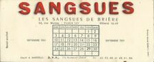 BUVARD 109433 SANGSUES DE BRIERE**