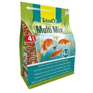 Tetra Pond Multimix, Food For Fish Of Pond Several Formats