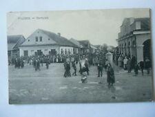 Ansichtskarte Pruzana Marktplatz 1917 (Nr.670)