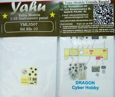 SD.KFZ 10 PE, 3D, COLORED INSTRUMENT PANEL TO DRAGON, ITALERU, ETC #3507 YAHU