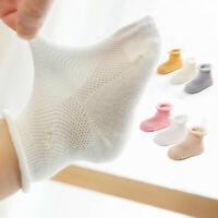 3 Pairs Newborn baby girl&boy Bulk Soft Cotton Toddler Ankle Crown Socks 0-3Y