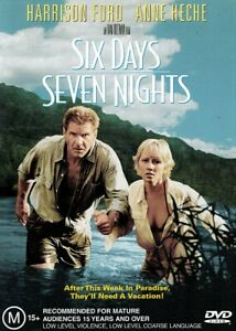 SIX DAYS SEVEN NIGHTS New Dvd HARRISON FORD ANNE HECHE ***