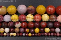 Natural Moukaite Jasper Gemstone Faceted Round Beads 4mm 6mm 8mm 10mm 12mm 15""