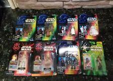 Star Wars PotF Lot of 8 figs POTJ E1 Leia Maul Jawa Yoda Obi-Wan Lando OOM-9